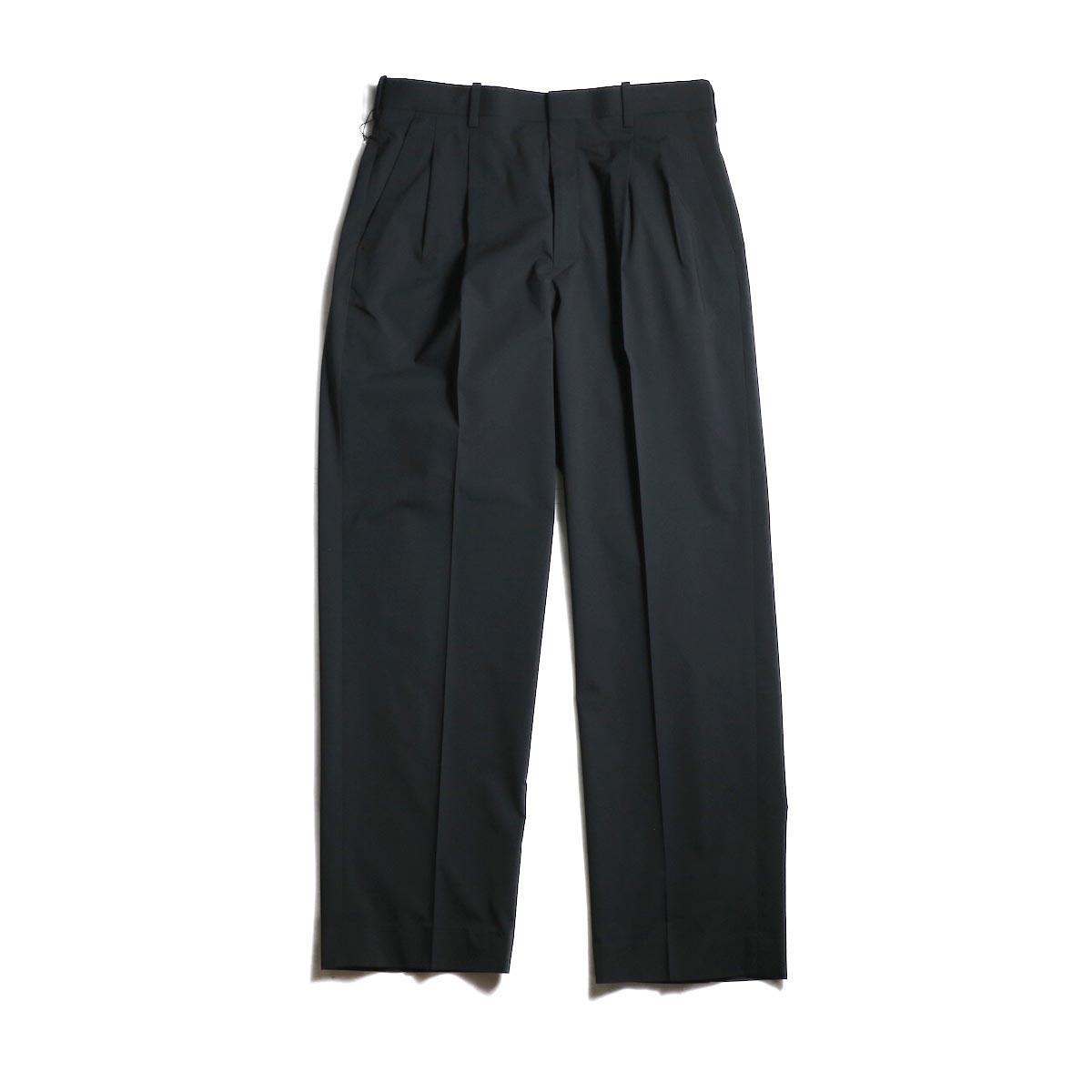 N.HOOLYWOOD / 1201-PT11-031 2Tuck Tapered Slacks (Black)