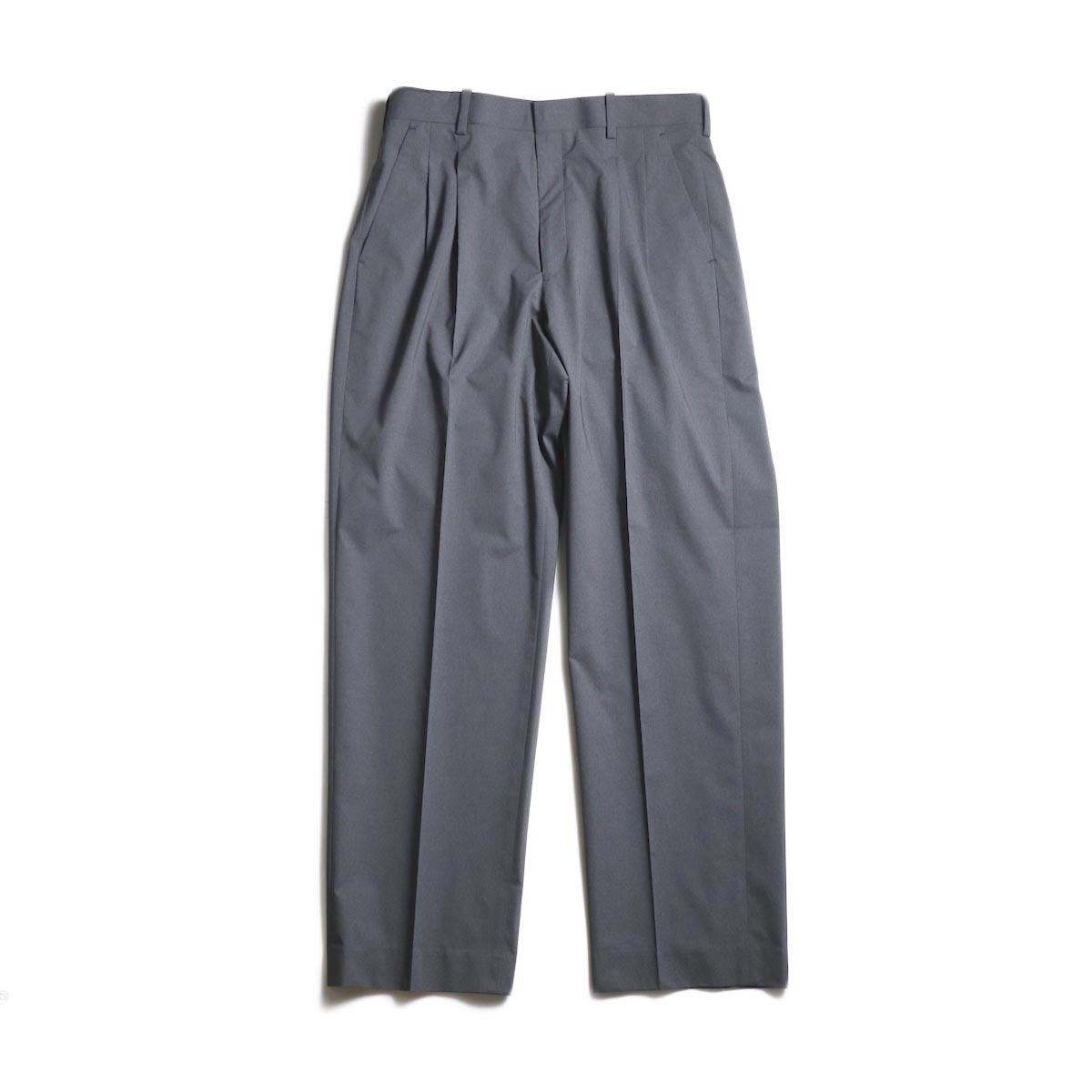 N.HOOLYWOOD / 1201-PT11-031 2Tuck Tapered Slacks (Charcoal)