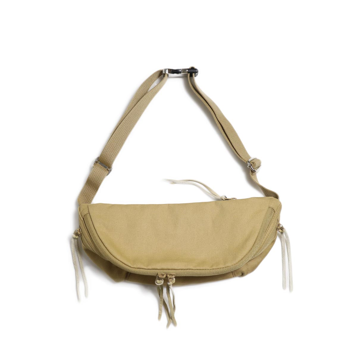 nonnative / HUNTER WAIST BAG COTTON CANVAS -Beige