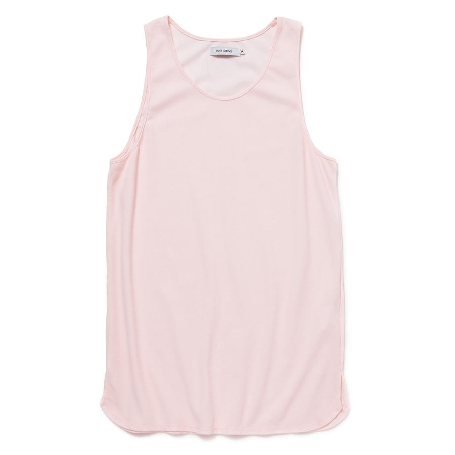 nonnative / DWELLER TANK TOP C/P/R MESH -pink