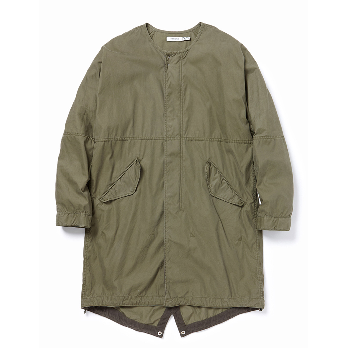nonnative / SOLDIER COAT C/N OXFORD -OLIVE