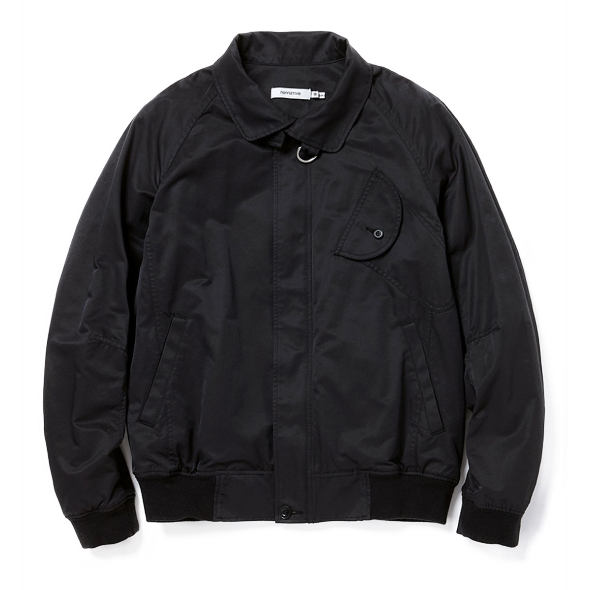 nonnative / CLERK BLOUSON C/P TWILL -BLACK