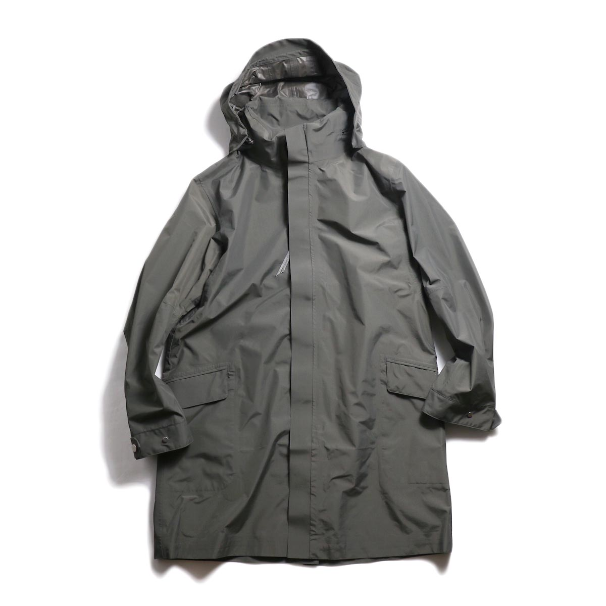 nonnative / SCIENTIST COAT NYLON RIPSTOP WITH GORE-TEX 2L -Charcoal