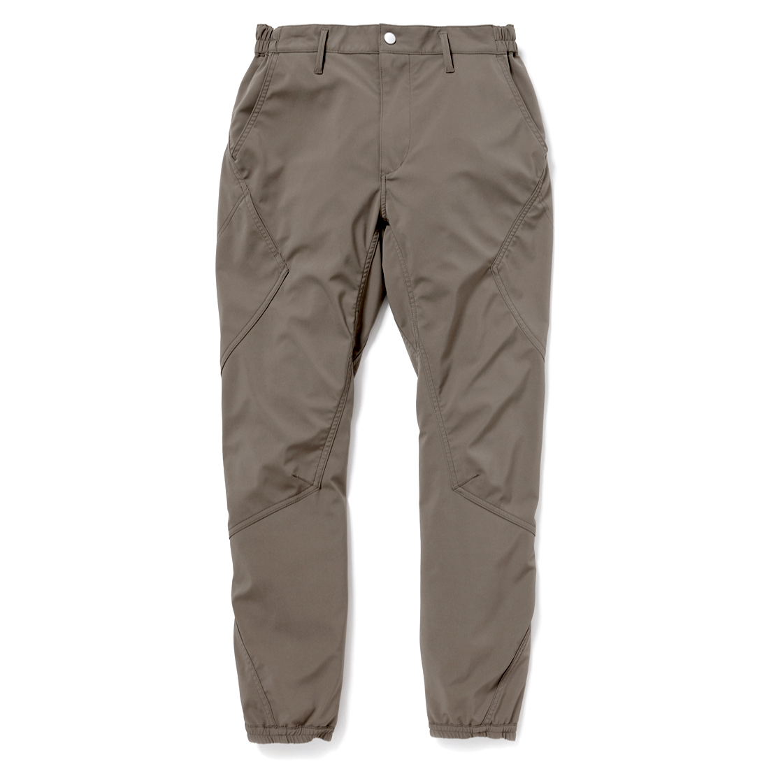 nonnative / CYCLIST EASY RIB PANTS TAPERED FIT N/P TAFFETA STRETCH WITH WINDSTOPPER 3L -EUCALIPTUS