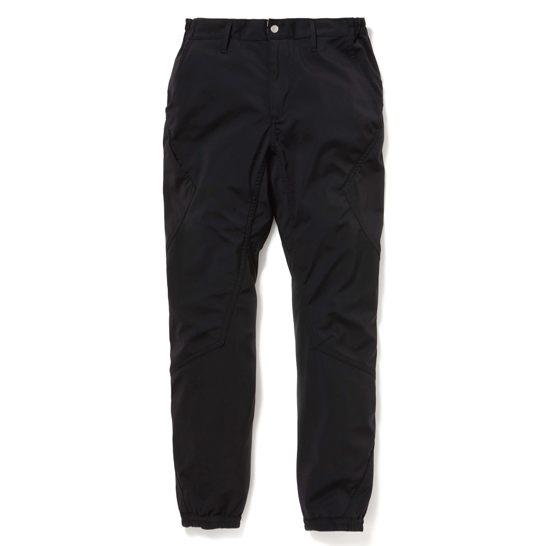 nonnative / CYCLIST EASY RIB PANTS TAPERED FIT N/P TAFFETA STRETCH WITH WINDSTOPPER 3L -BLACK
