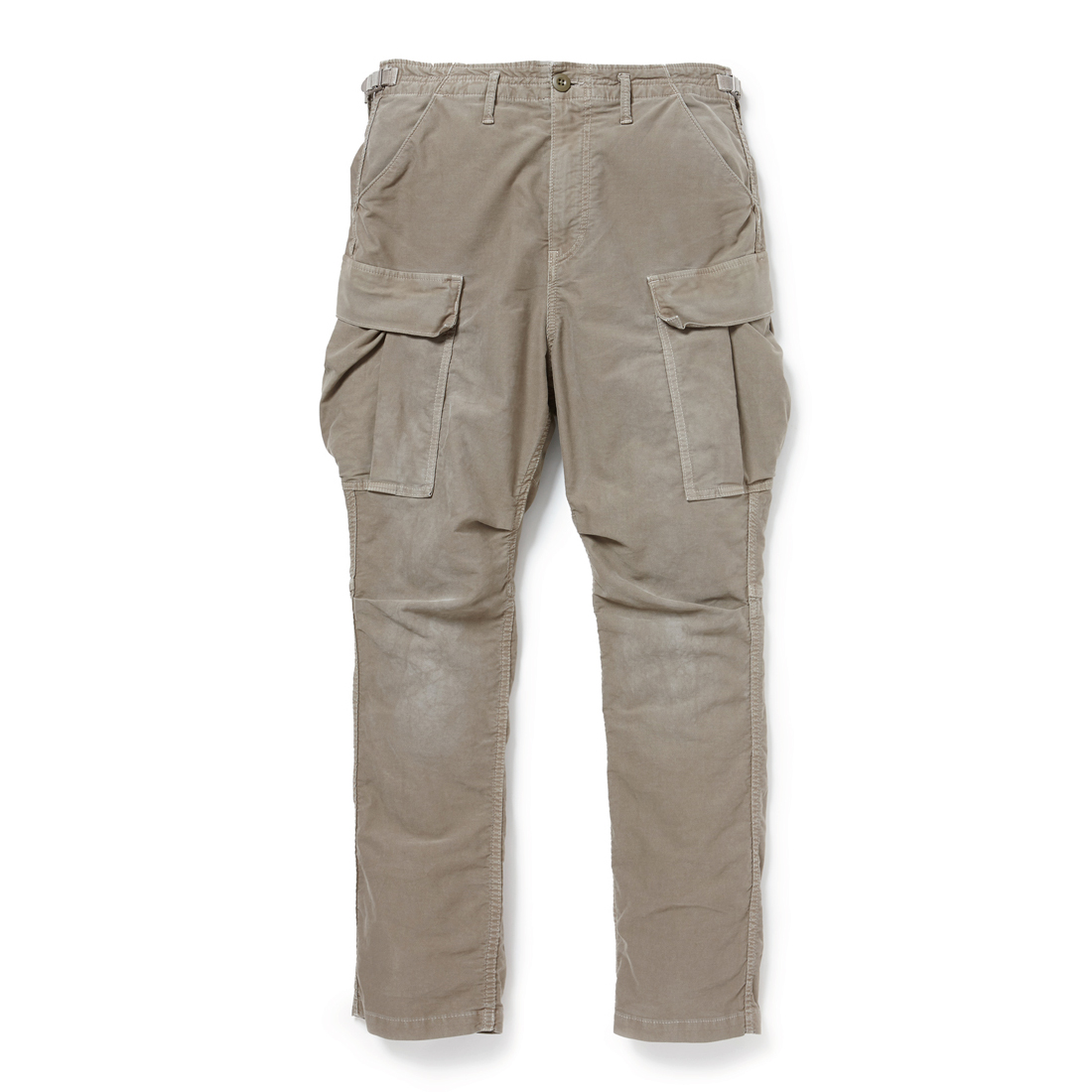 nonnative / TROOPER TROUSERS RELAX FIT C/P MOLESKIN STRETCH OVERDYED