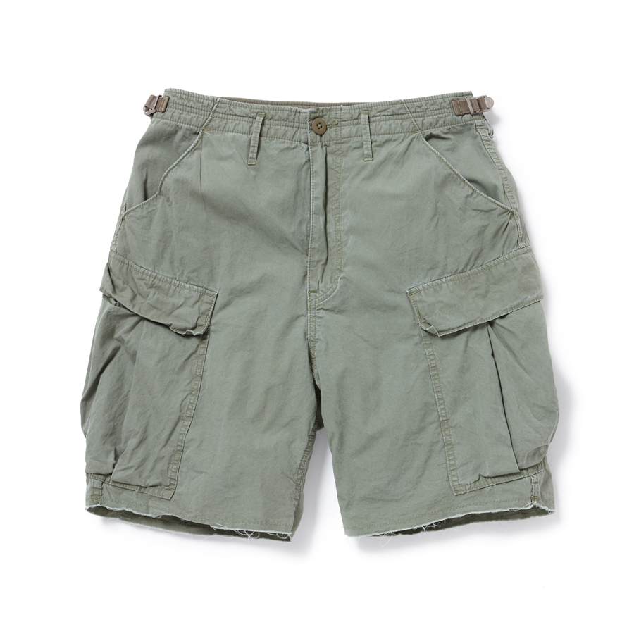 nonnative / TROOPER SHORTS COTTON WEATHER -Olive