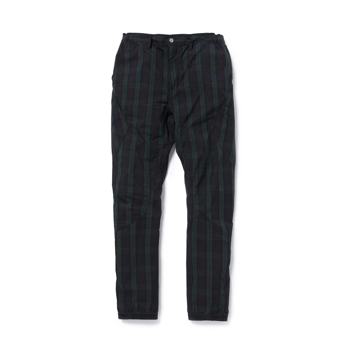 nonnative / CYCLIST EASY RIB PANTS TAPERED FIT C/P RIPSTOP STRETCH COOL MAX -Black Watch