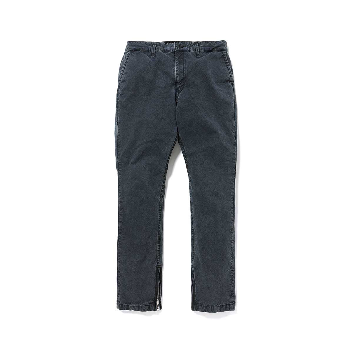 nonnative / HANDYMAN TROUSERS RELAX FIT COTTON OXFORD -black