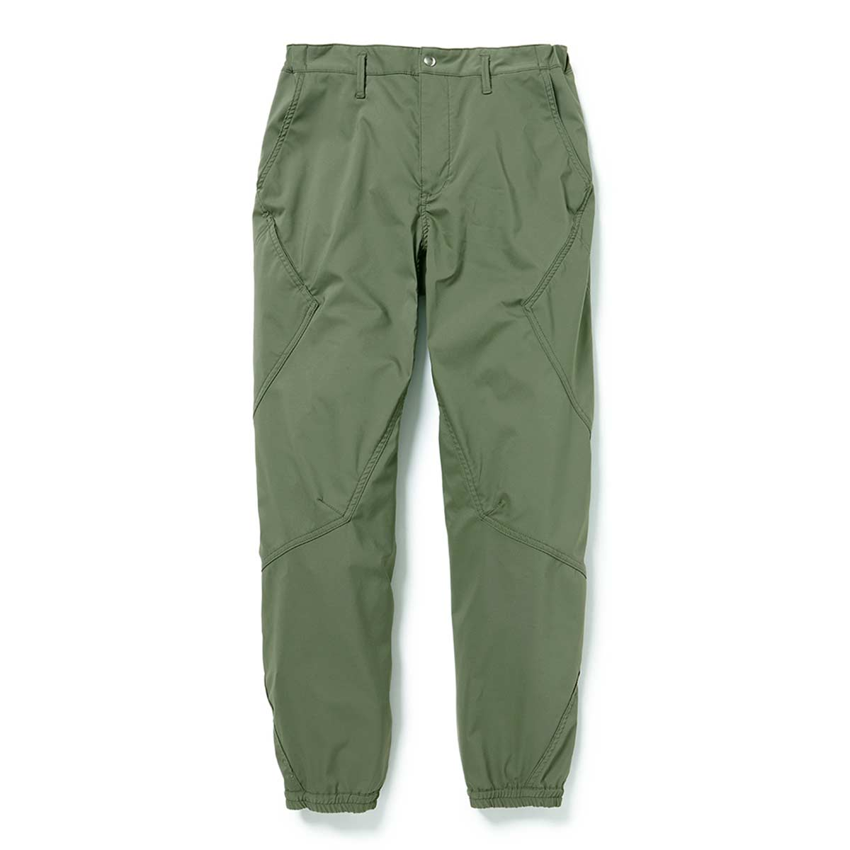 nonnative / CYCLIST EASY RIB PANTS TAPERED FIT POLY TWILL Pliantex -OLIVE