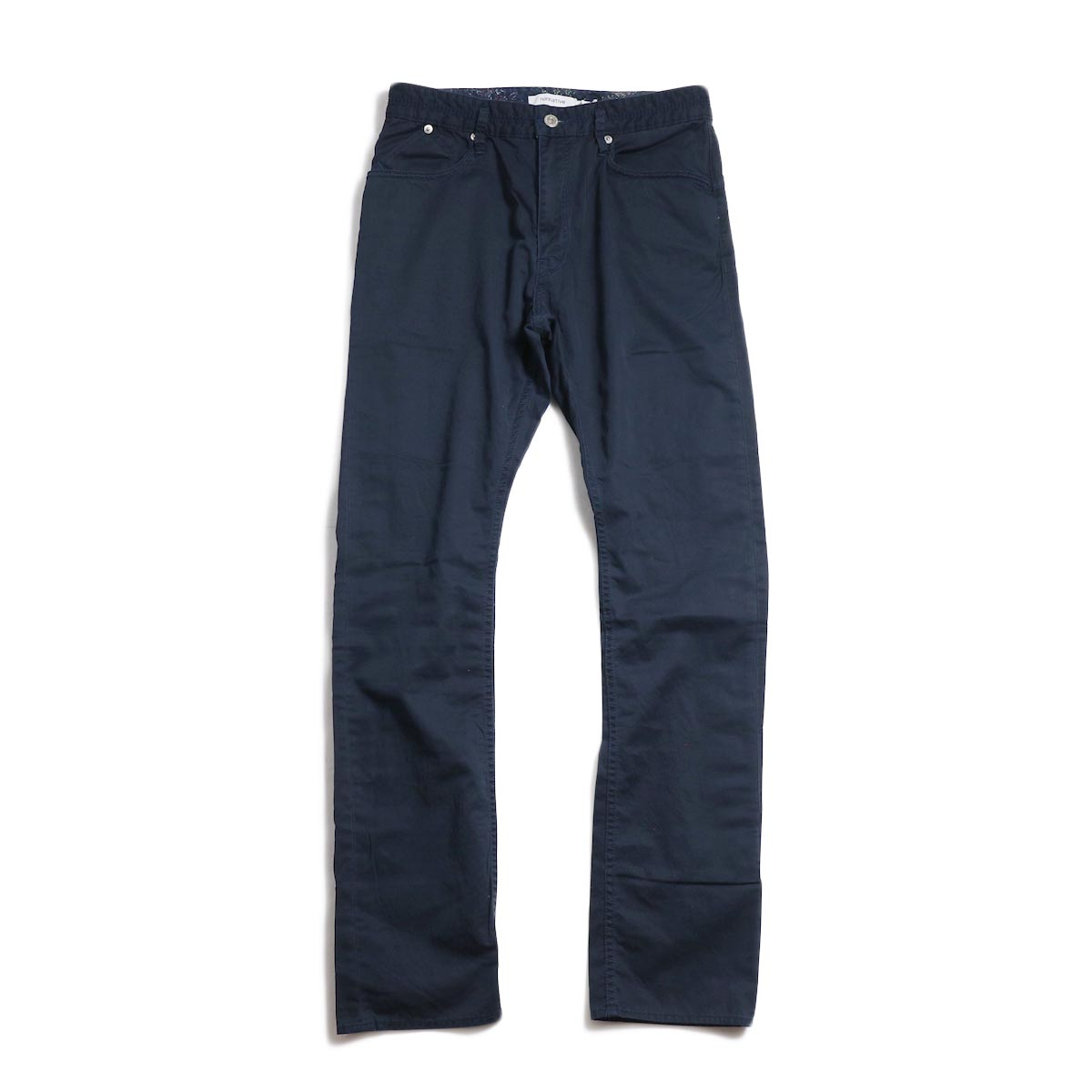 nonnative / DWELLER 5P JEANS USUAL FIT C/L TWILL -Navy