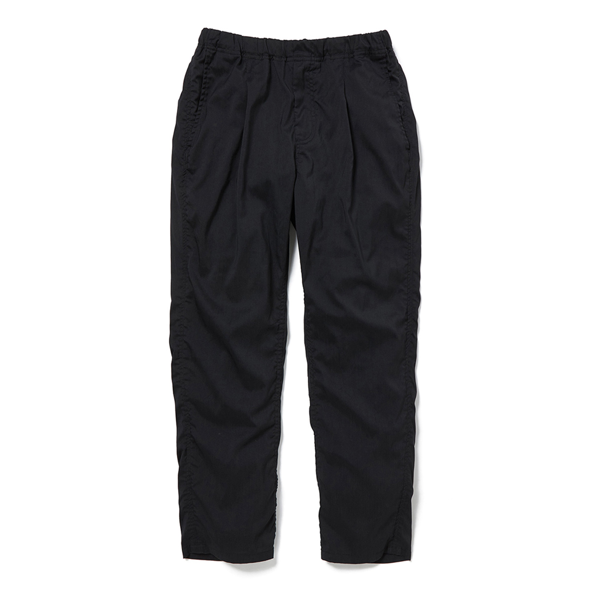 nonnative / MANAGER EASY PANTS RELAX FIT P/L/P POPLIN STRETCH -Black