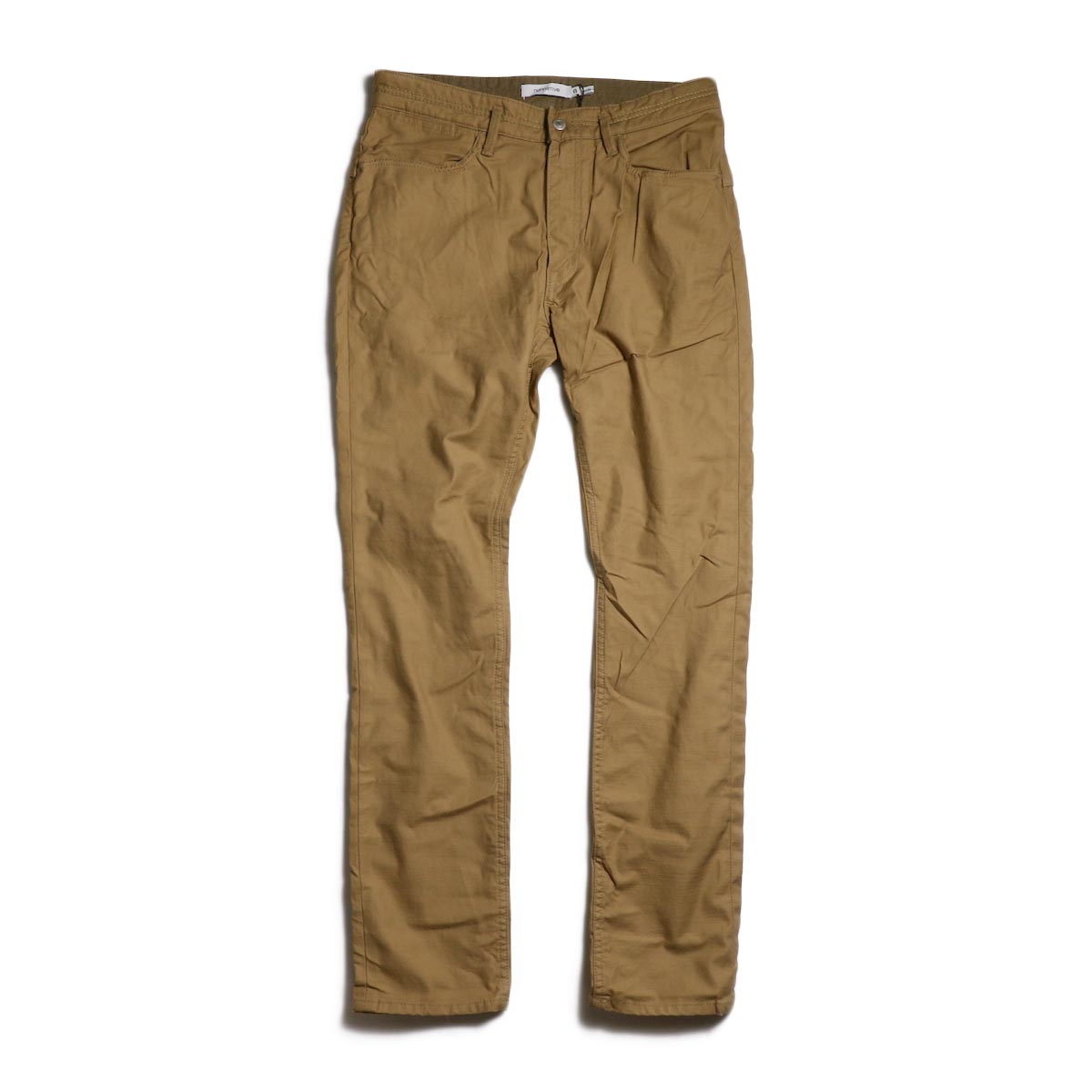 nonnative / DWELLER 5P JEANS DROPPED FIT C/P BACK SATIN STRETCH -Beige