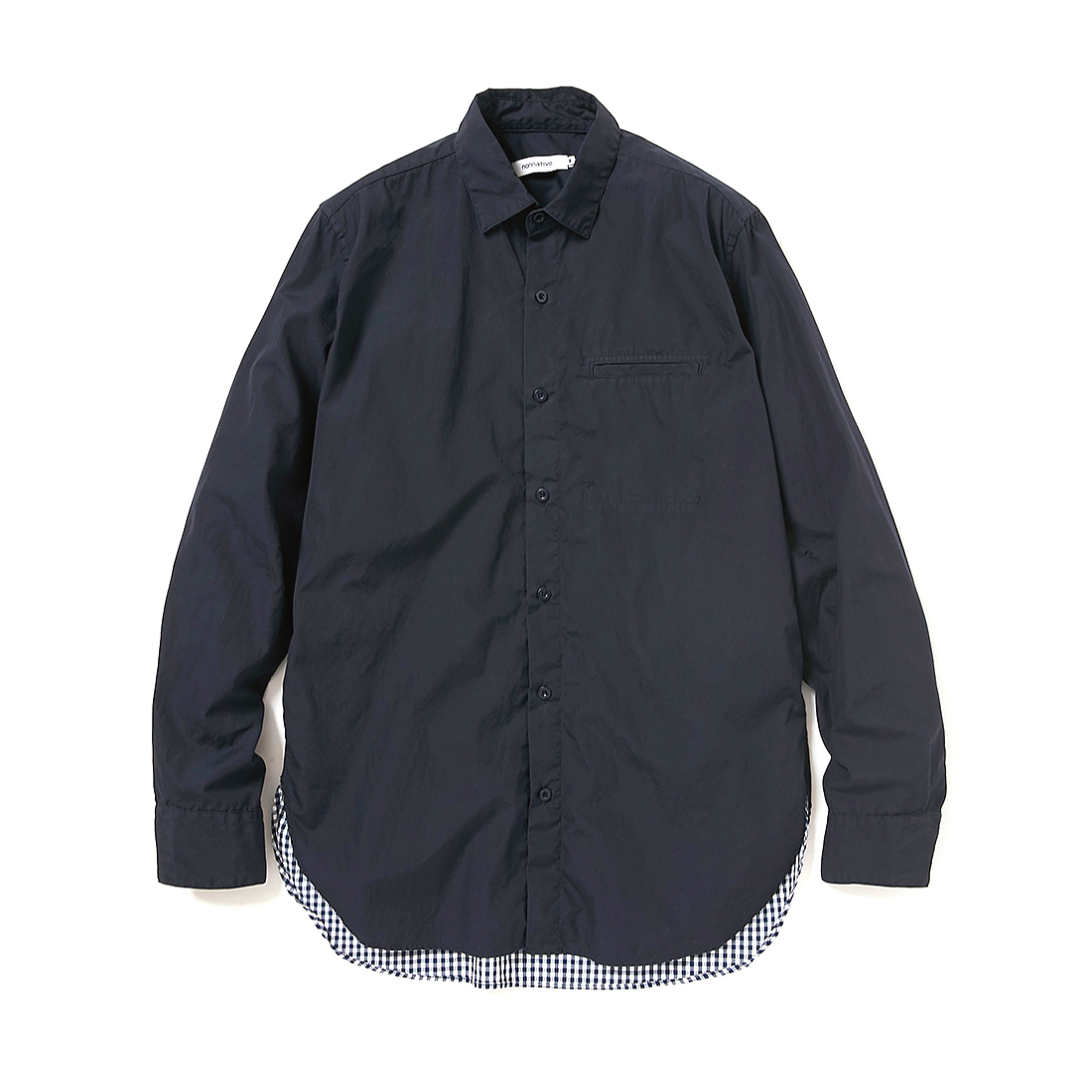 nonnative / CYCLIST EASY RIB PANTS TAPERED FIT N/P TAFFETA STRETCH WITH WINDSTOPPER 3L -EUCALIPTUSnonnative / GARDENER LONG SHIRT COTTON BROAD