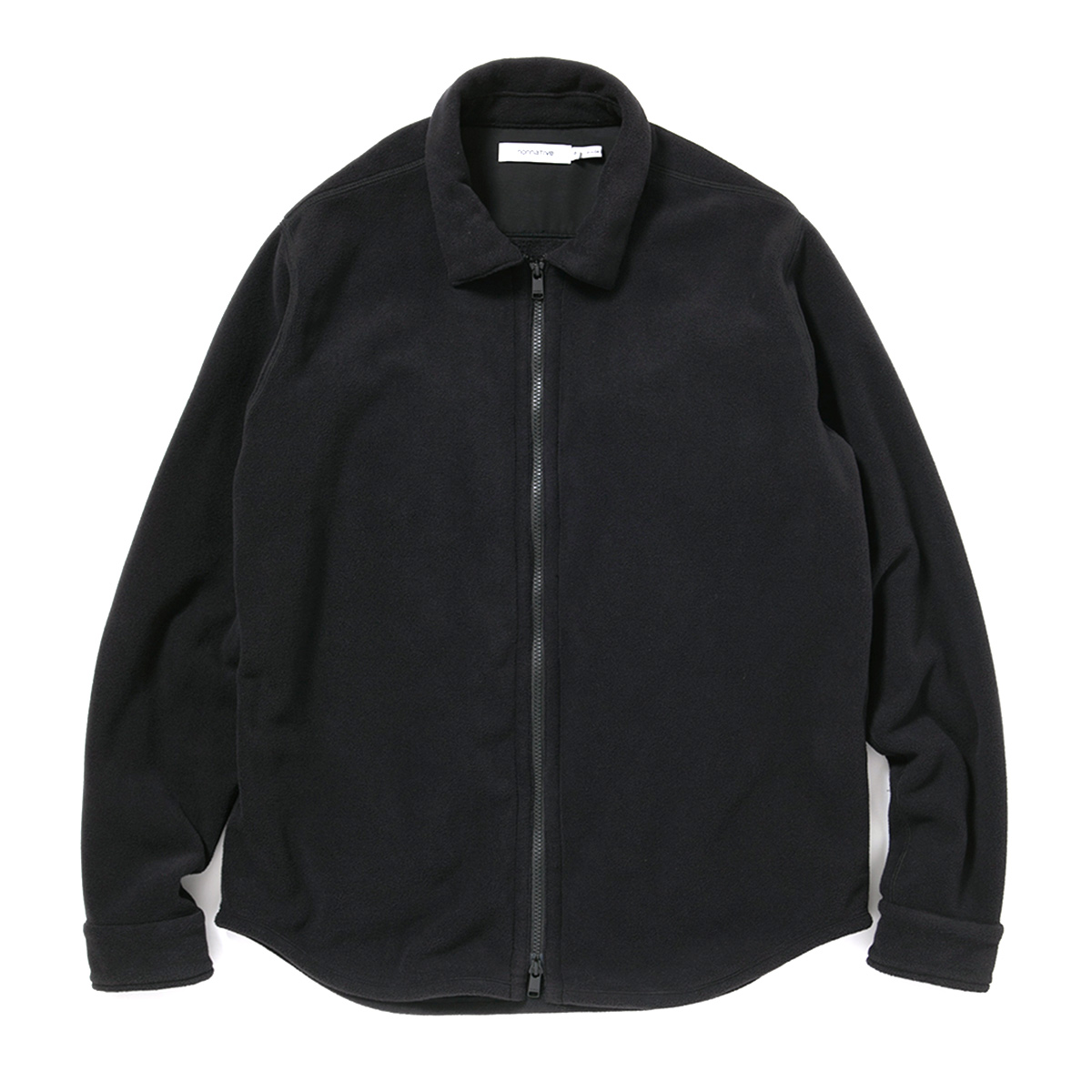 nonnative / HIKER FULL ZIP SHIRT POLY FLEECE POLARTEC -BLACK