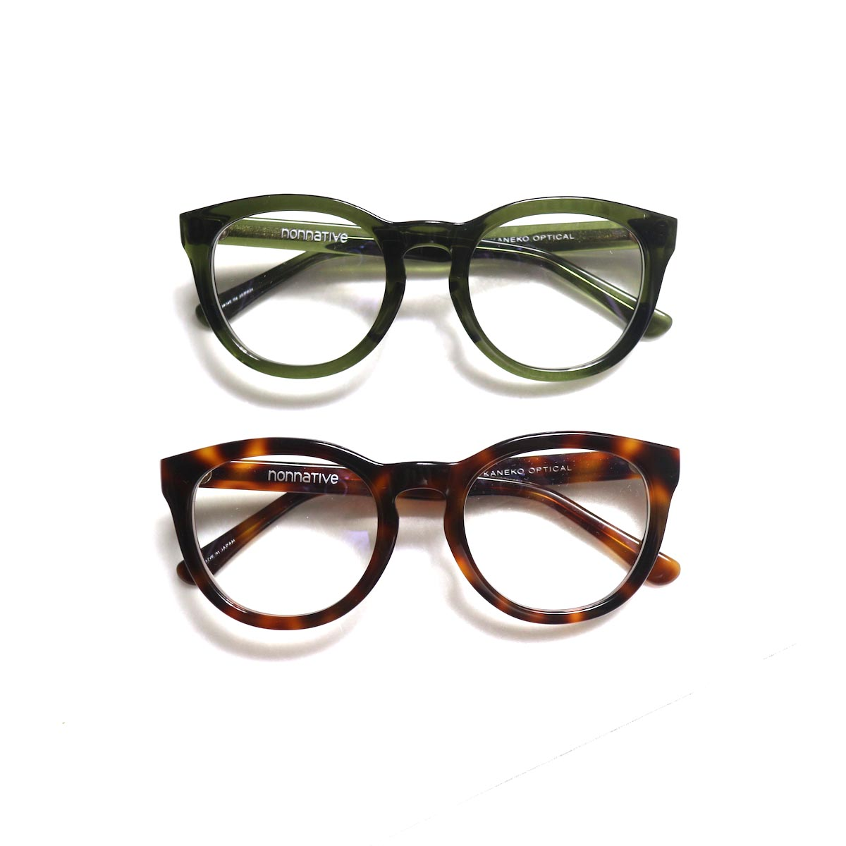 nonnative / DWELLER GLASSES by KANEKO OPTICAL