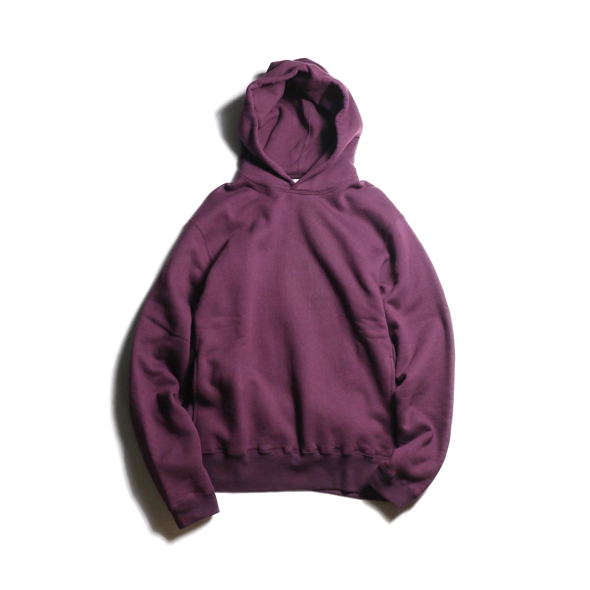 nonnative / DWELLER HOODY COTTON SWEAT (Bordeaux)