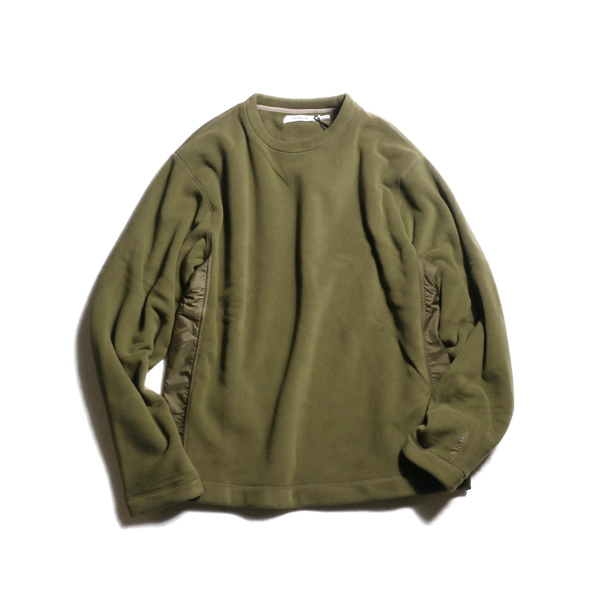 nonnative / COACH CREW PULLOVER POLY FLEECE POLARTEC® (Beige)