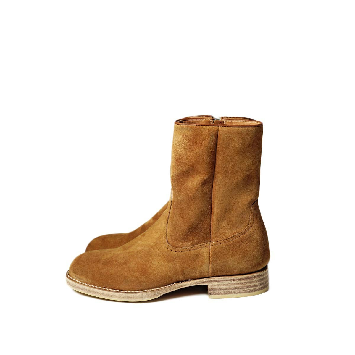 nonnative / RANCHER ZIP UP BOOTS COW LEATHER (Brown)