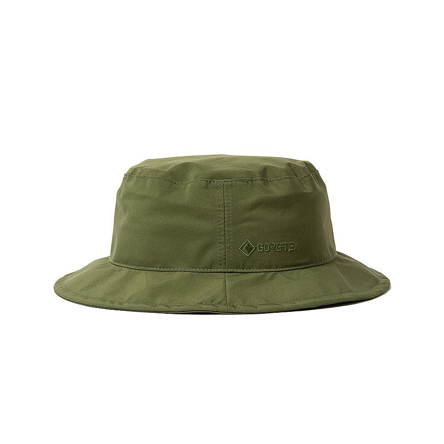 nonnative / EXPLORER HAT POLY TAFFETA WITH GORE-TEX® 3L (Olive)
