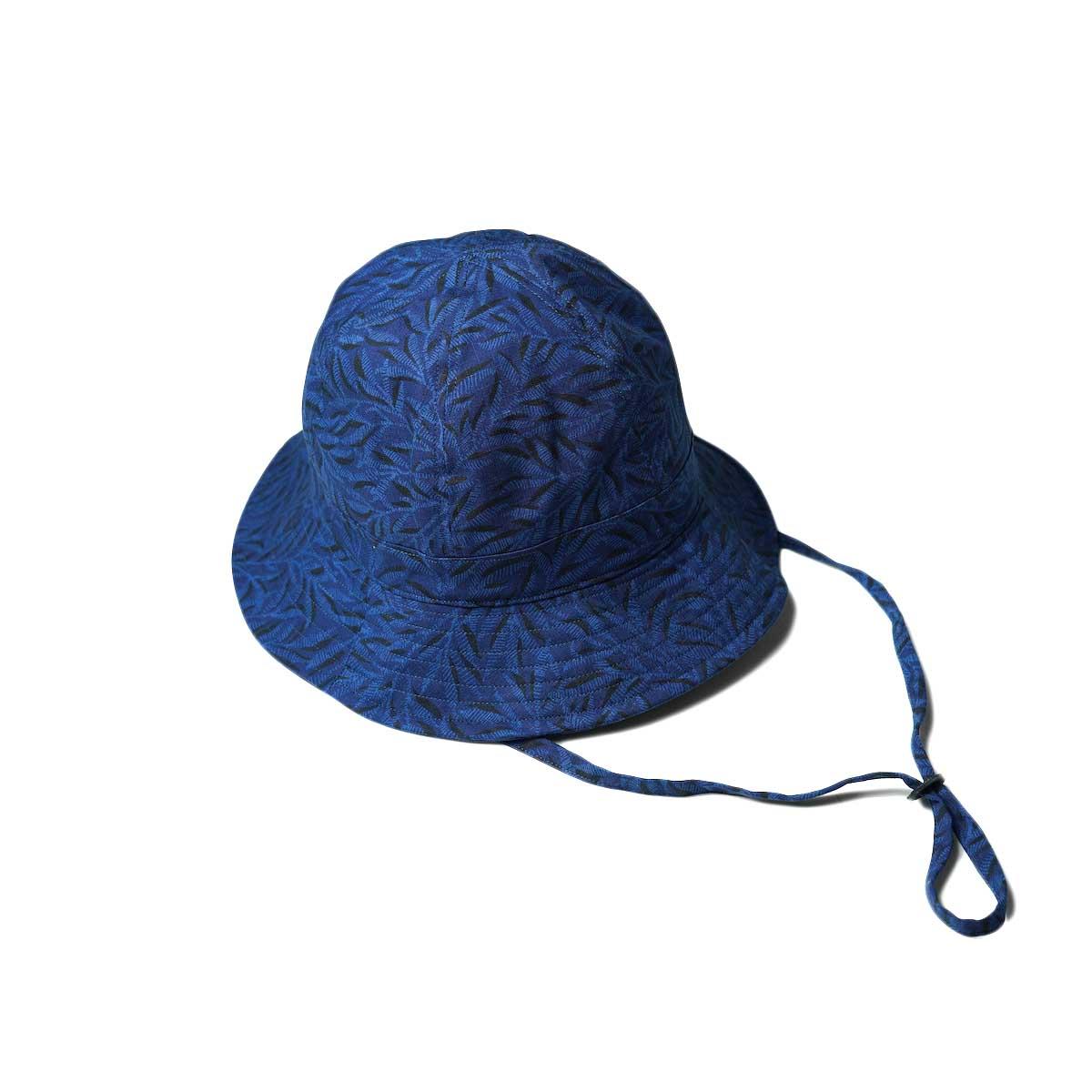 nonnative / PLOUGHMAN HAT COTTON RIPSTOP LIBERTY® PRINT (Navy)