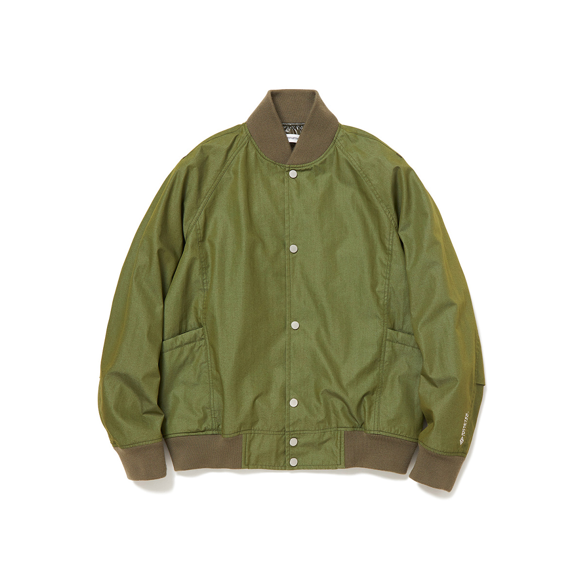 nonnative / EDUCATOR BLOUSON C/N TUSSAH WITH GORE-TEX INFINIUM™ (Olive)