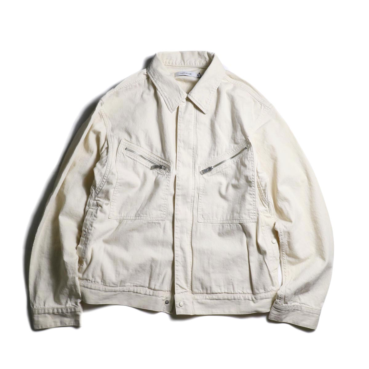 nonnative / WORKER BLOUSON COTTON 8oz DENIM OW (Off White)