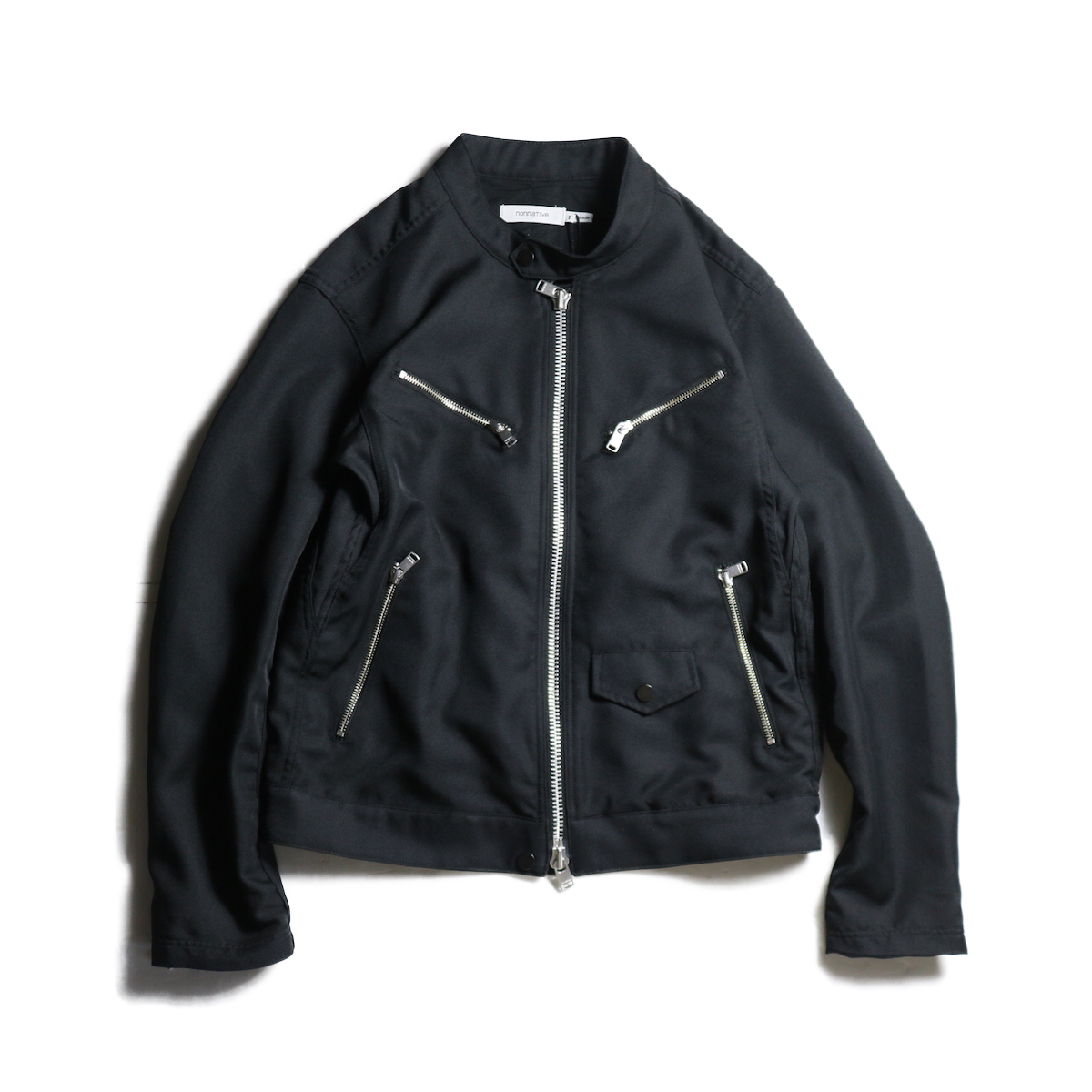 nonnative / RIDER BLOUSON POLY TWILL WITH GORE-TEX INFINIUM™ (Black)