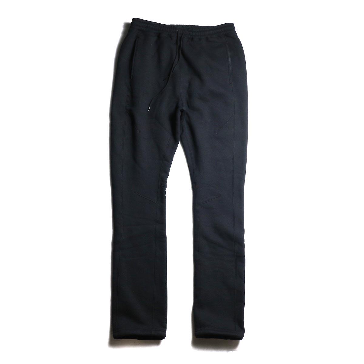 nonnative / COACH EASY PANTS COTTON SWEAT (Black)