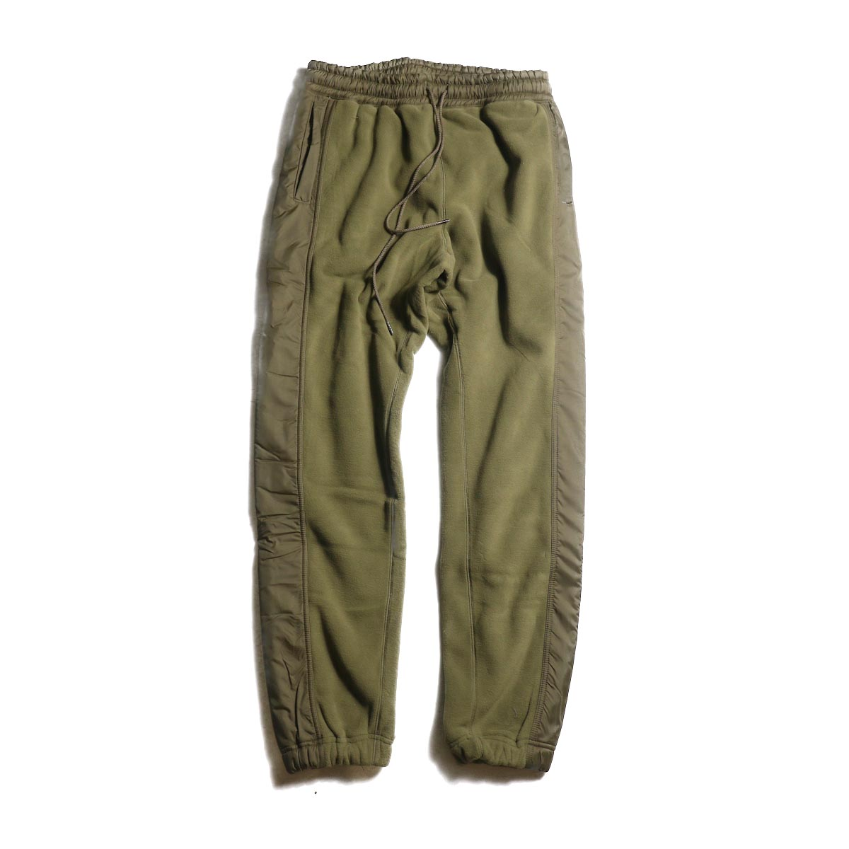 nonnative / HIKER EASY RIB PANTS POLY FLEECE POLARTEC® (Beige)