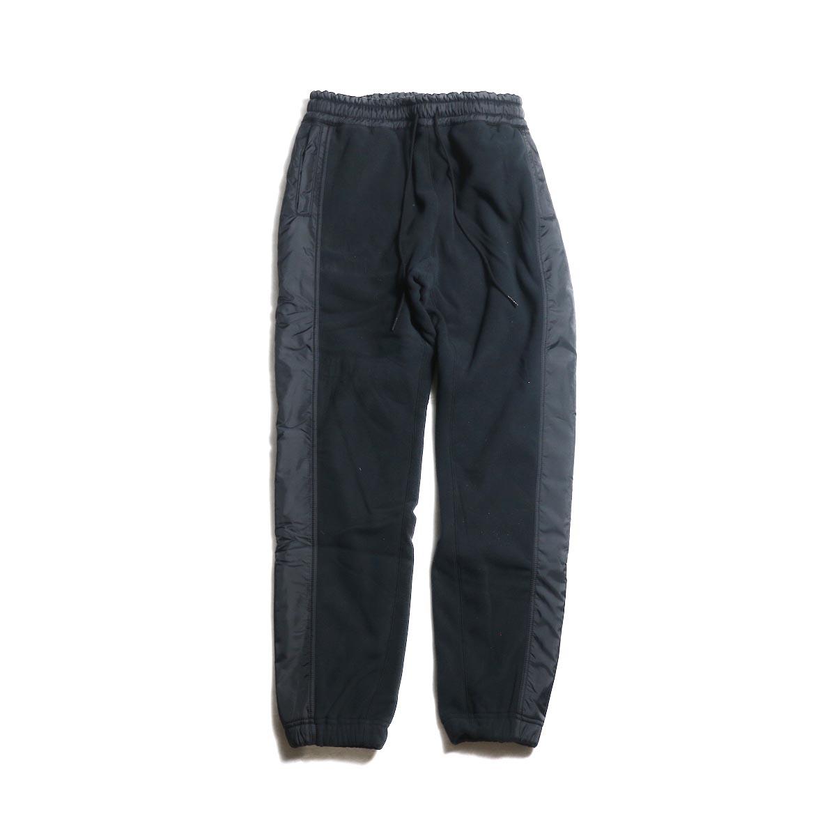 nonnative / HIKER EASY RIB PANTS POLY FLEECE POLARTEC® (Black)
