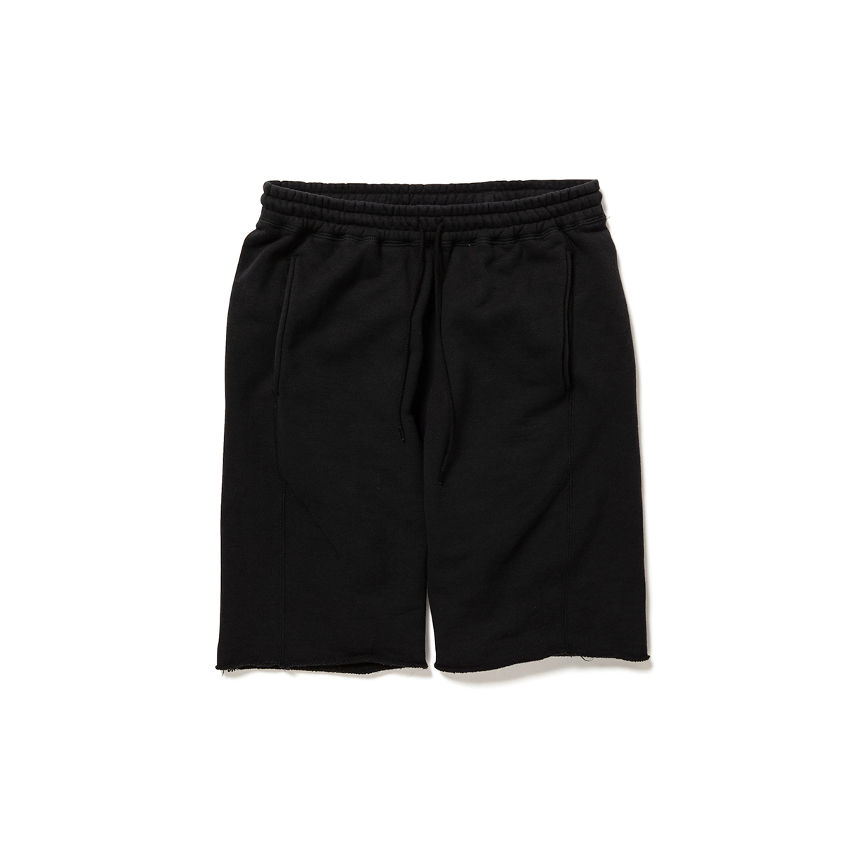 nonnative / COACH EASY SHORTS C/N SWEAT CORDURA® (Black)正面