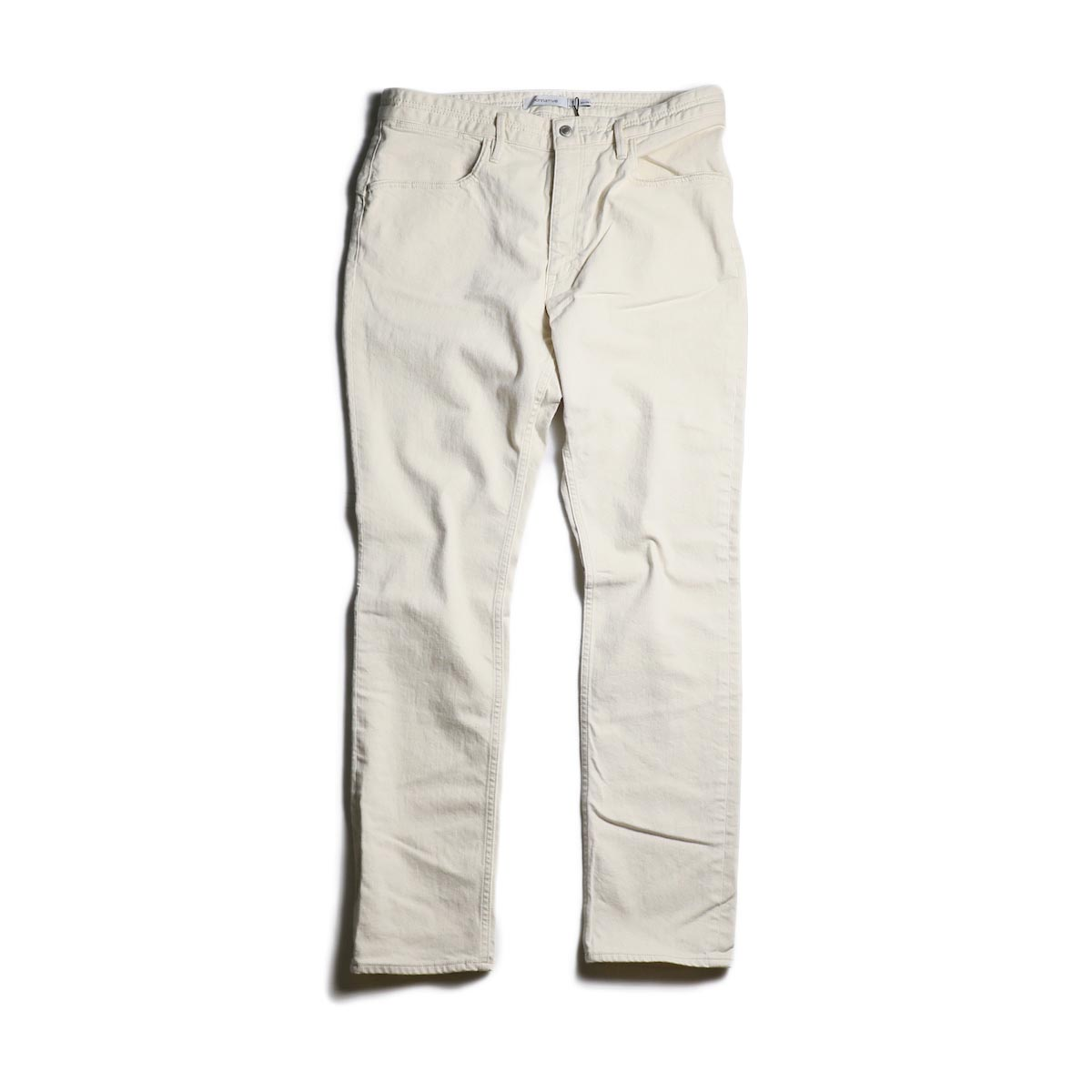 nonnative / DWELLER 5P JEANS DROPPED FIT C/P 12.5oz STRETCH DENIM OW (Off White)