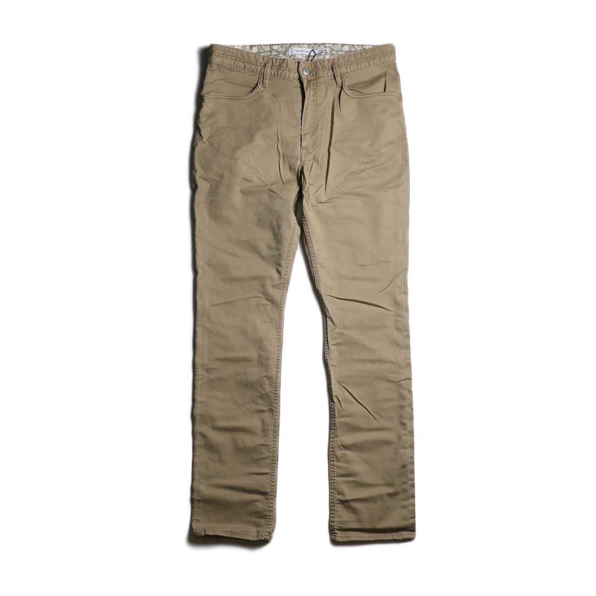 nonnative / DWELLER 5P JEANS DROPPED FIT C/P JEAN CORD STRETCH (Beige)