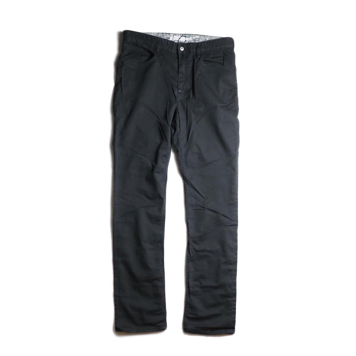nonnative / DWELLER 5P JEANS DROPPED FIT C/P JEAN CORD STRETCH (Black)