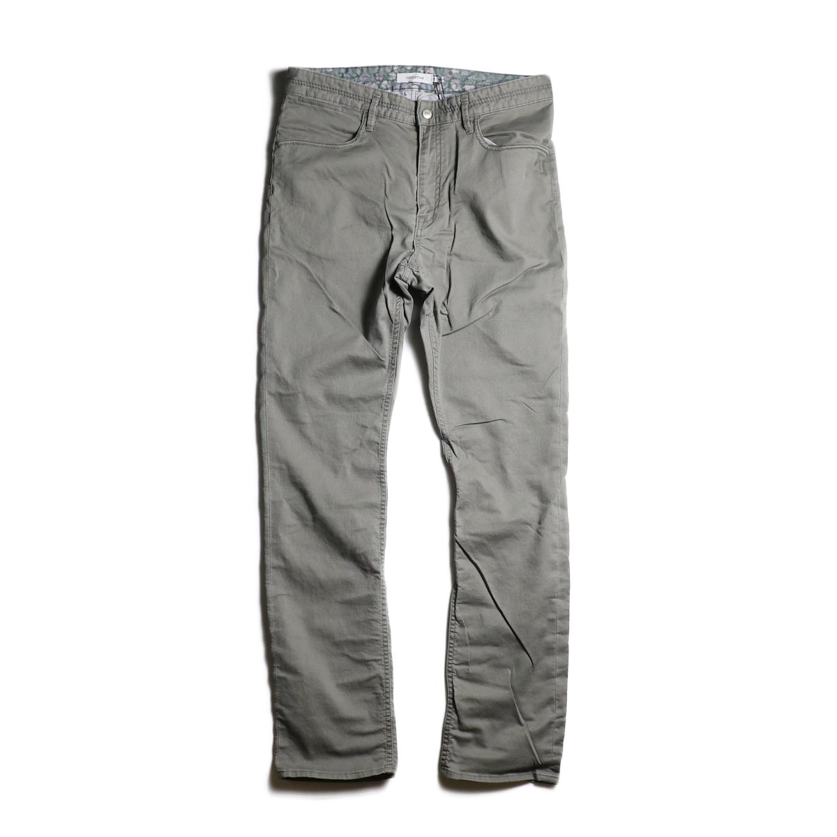 nonnative / DWELLER 5P JEANS DROPPED FIT C/P JEAN CORD STRETCH (Gray)