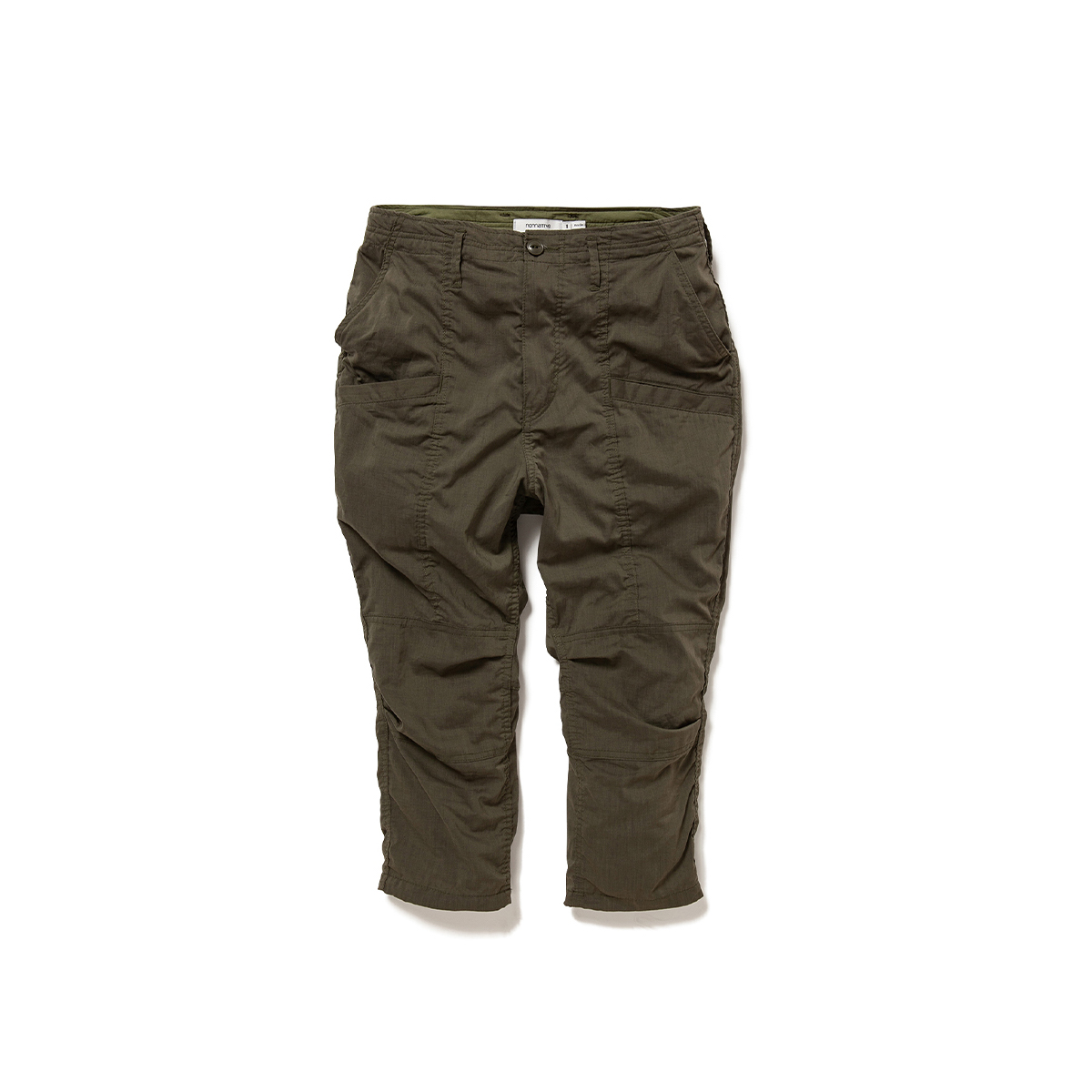 nonnative / EDUCATOR 6P TROUSERS SHIN CUT RELAXED FIT P/L WEATHER STRETCH COOLMAX® (Olive)正面