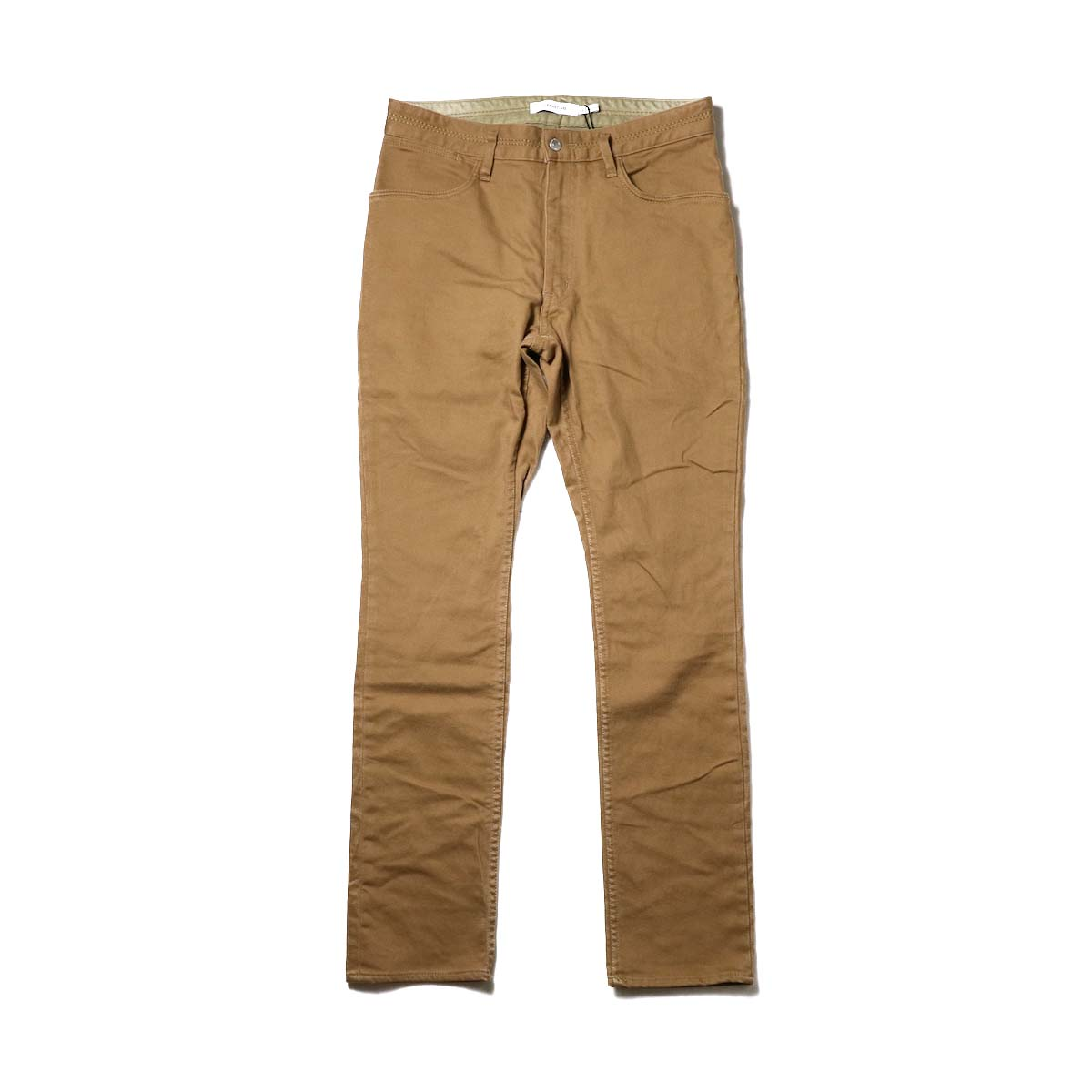 nonnative / DWELLER 5P JEANS DROPPED FIT C/P KATSURAGI STRETCH (Beige)