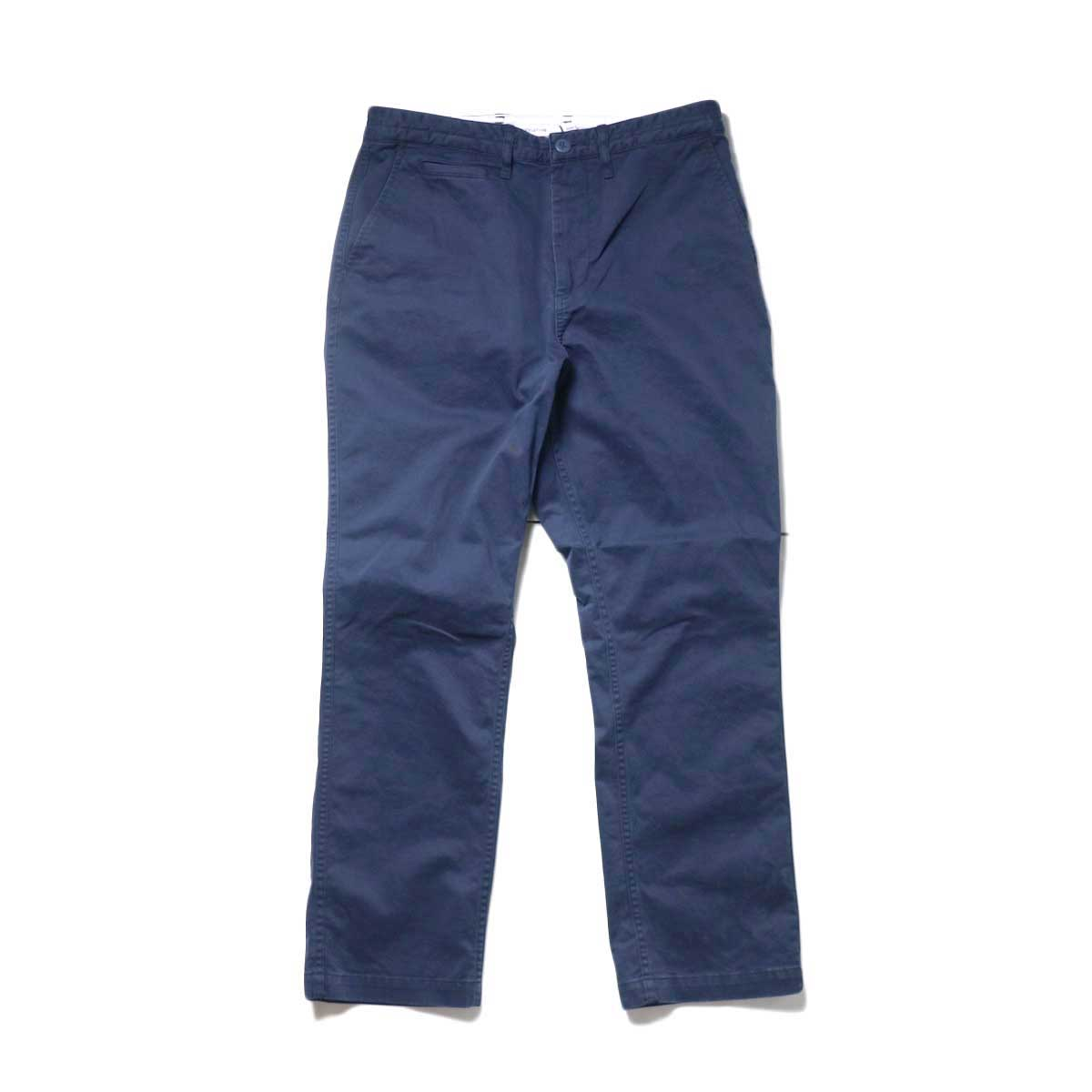 nonnative / DWELLER CHINO TROUSERS USUAL FIT C/P TWILL STRETCH VW (Navy)