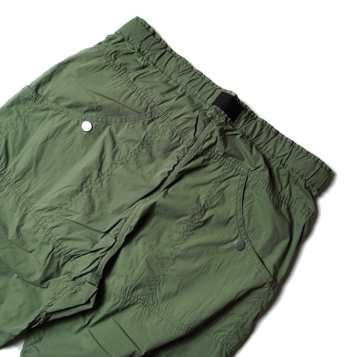 nonnative / ALPINIST EASY PANTS C/N TYPEWRITER WITH FIDLOCK® BUCKLE (Olive)ポケット