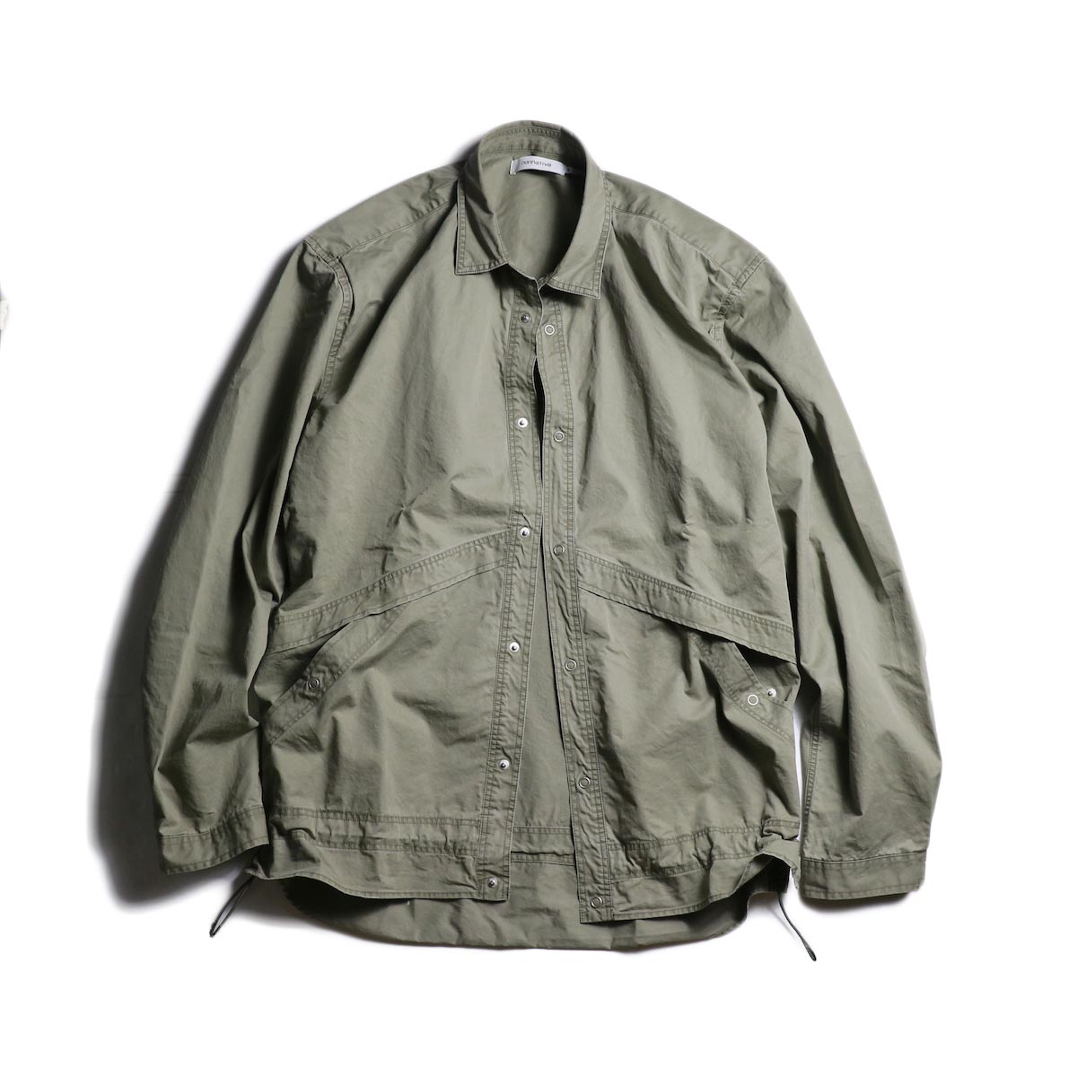 nonnative / COACH SHIRT JACKET COTTON TWILL VW (Olive)