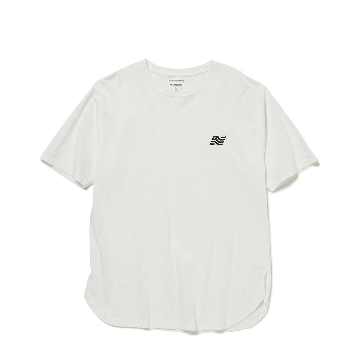 nonnative / FLAG TEE (White)