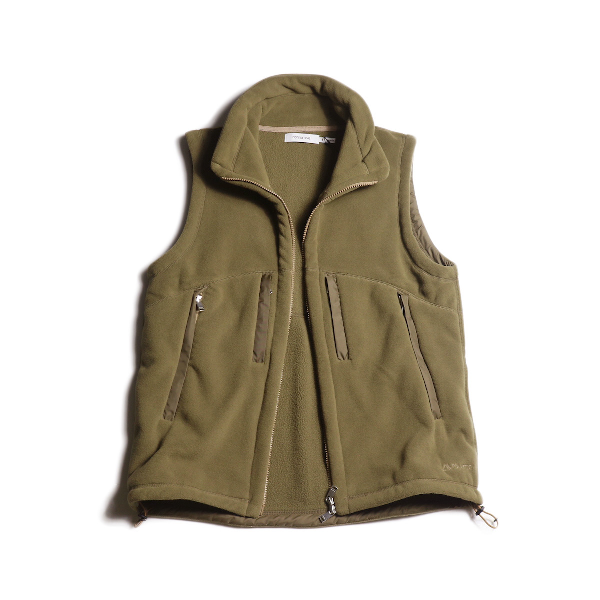 nonnative / ALPINIST VEST POLY FLEECE POLARTEC® (Beige)