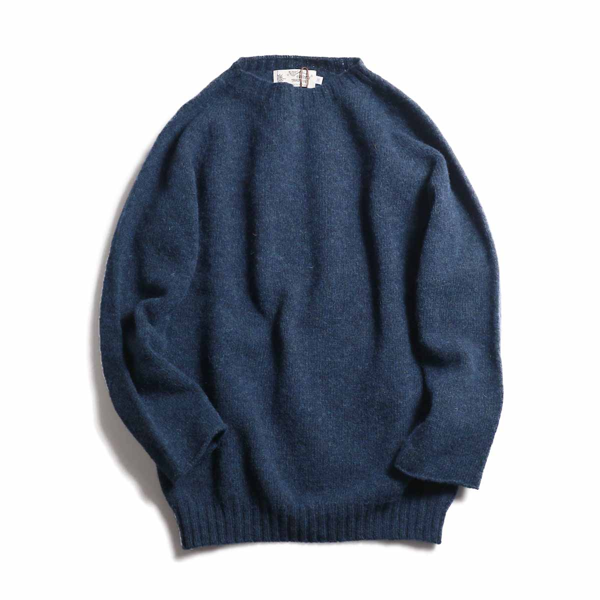 NOR'EASTERLY / L/S Crew Neck Knit -DK GREEN
