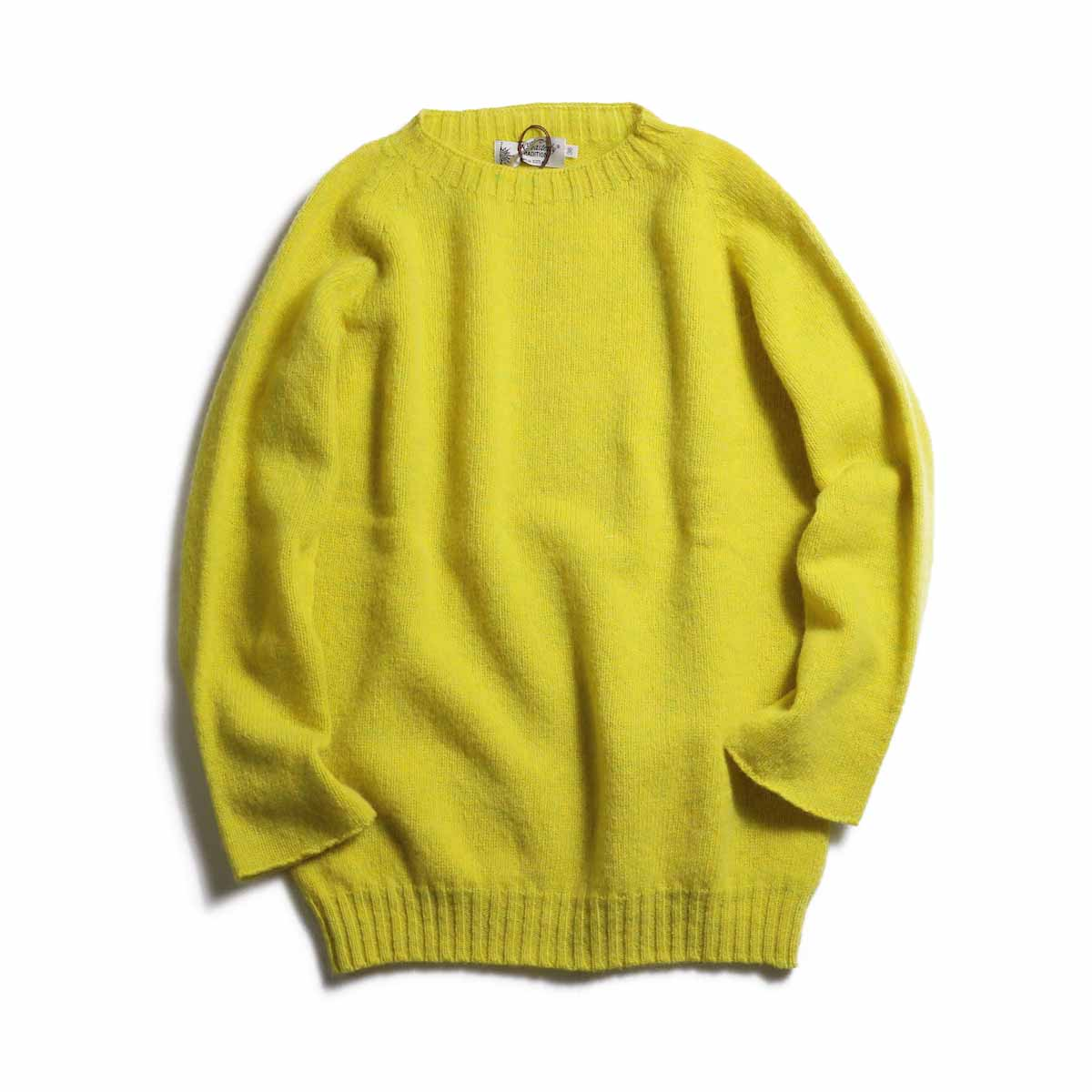 NOR'EASTERLY / L/S Crew Neck Knit -YELLOW