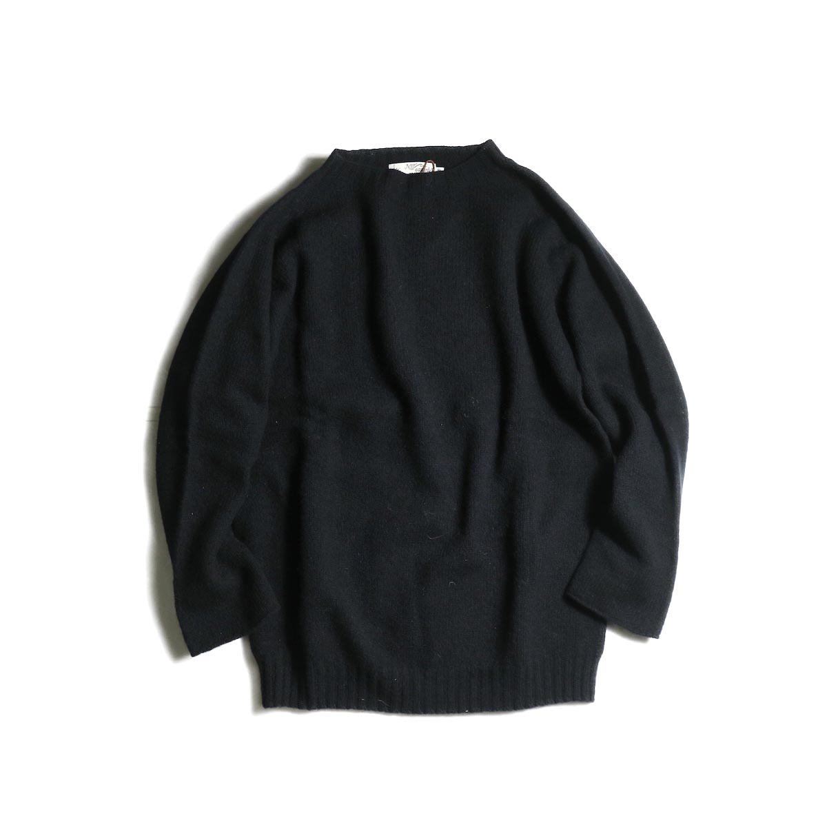 NOR'EASTERLY / L/S Crew Neck Knit (Black)