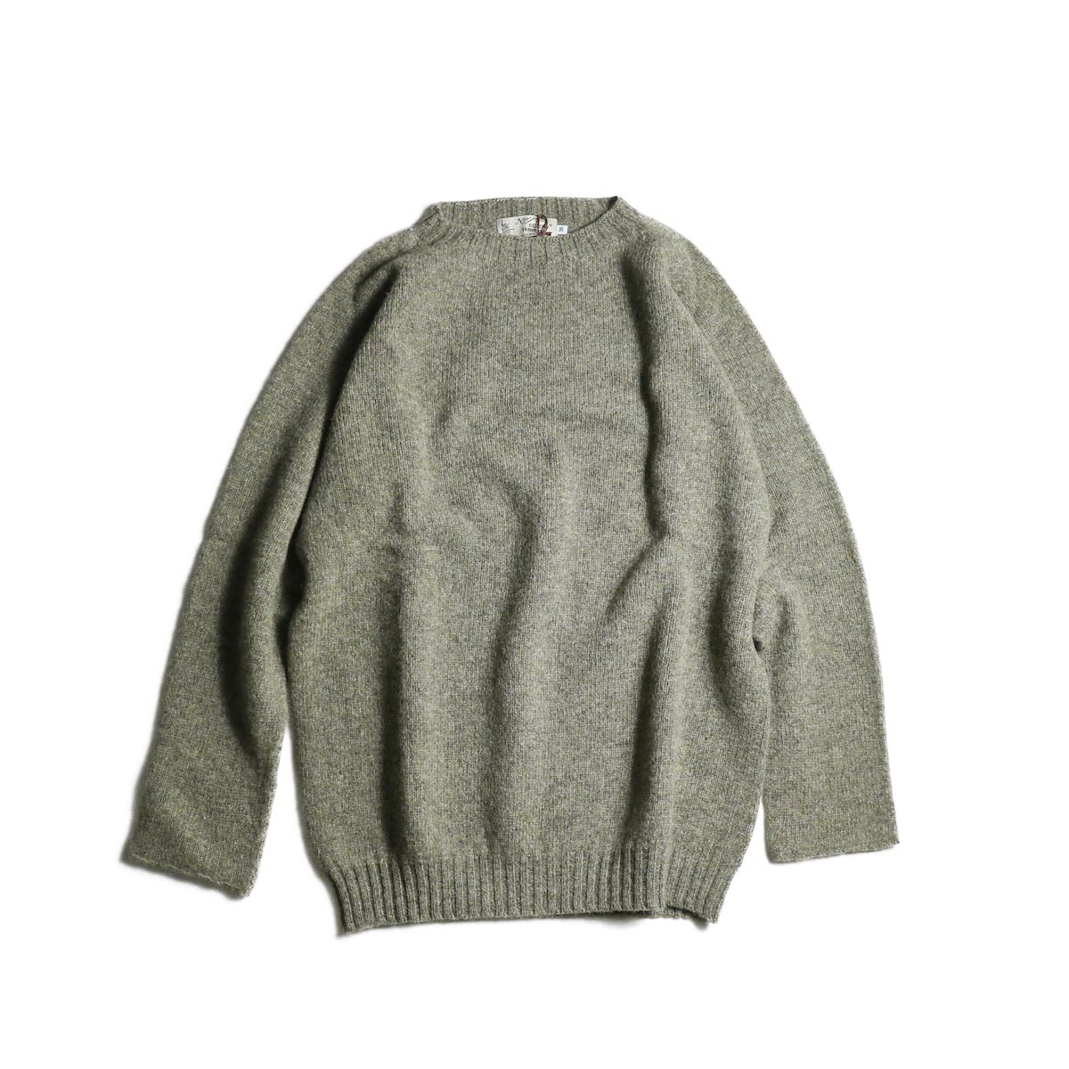 NOR'EASTERLY / L/S Crew Neck Knit (Oyster)
