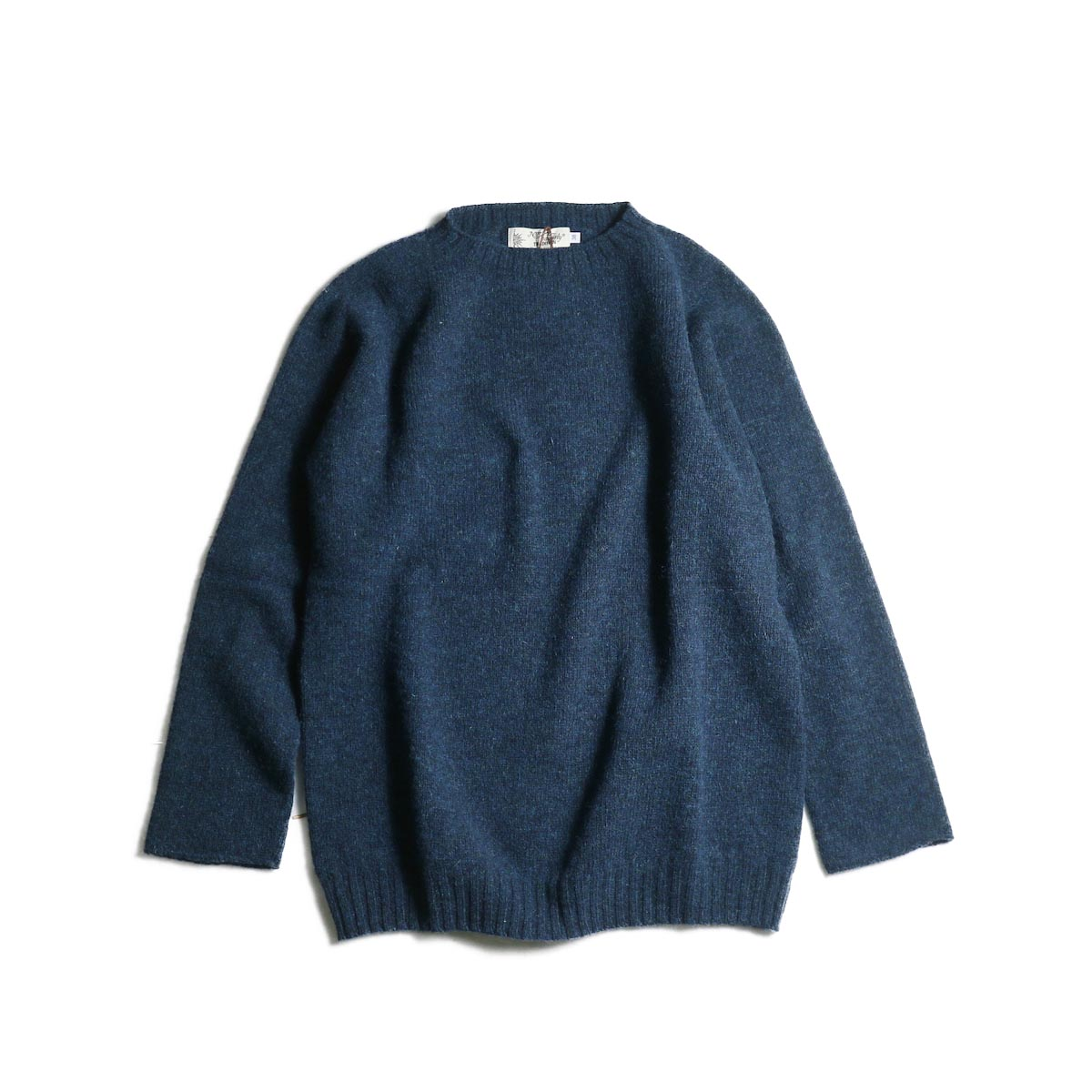 NOR'EASTERLY / L/S Crew Neck Knit (Petrel)