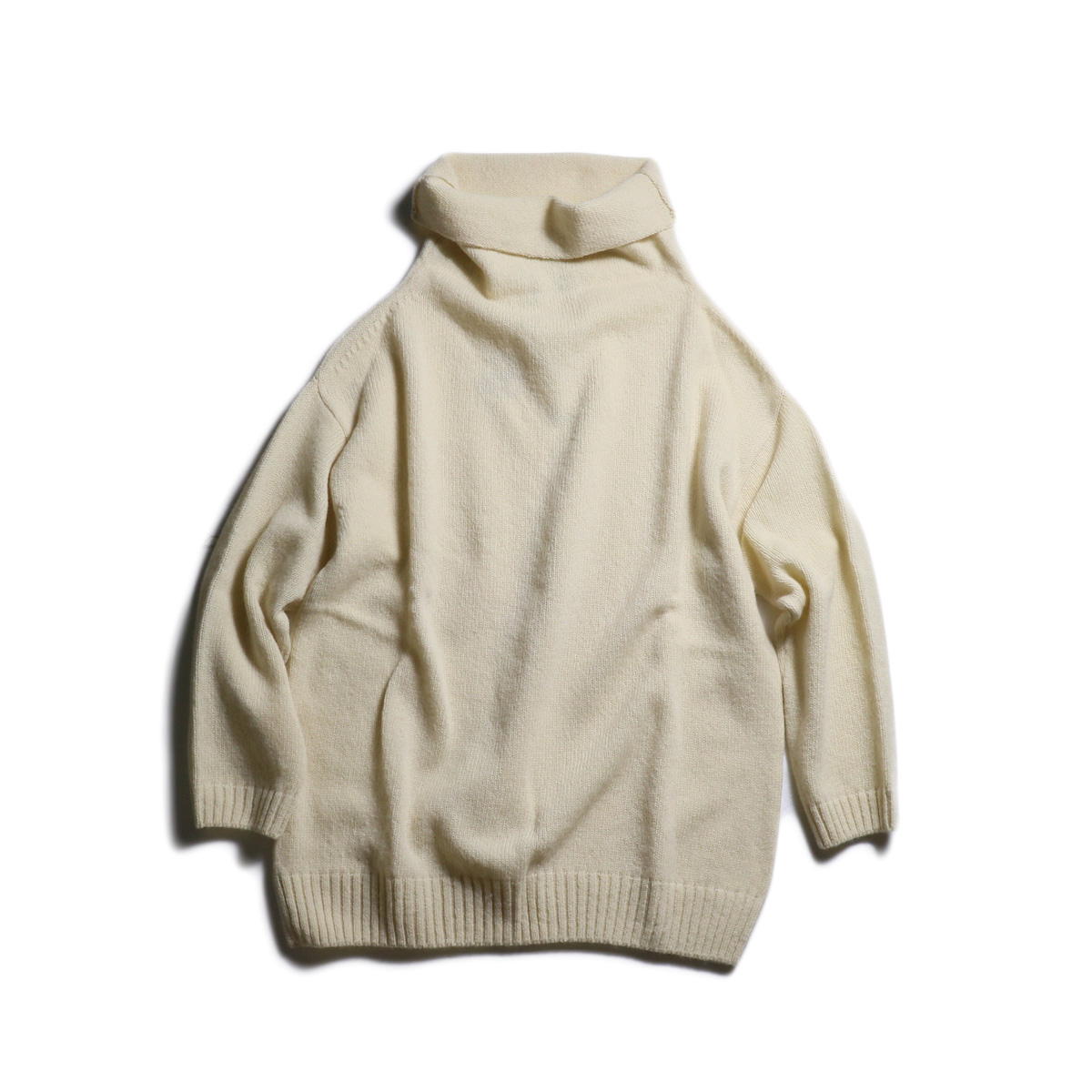 NOR'EASTERLY / L/S LOOSE TURTLE (Cream)