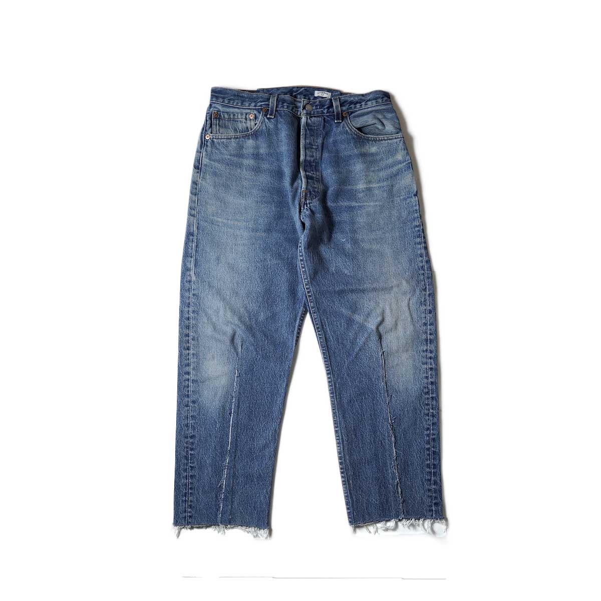 OLD PARK / Balloon Jeans (Blue) Msize-A